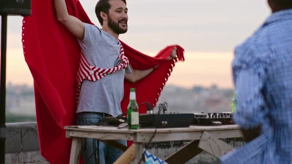Thumbnail for Asian DJ Rocking Rooftop Party