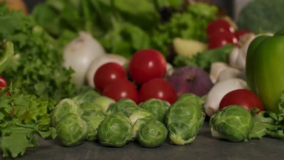 Brussels Sprouts and Veggies