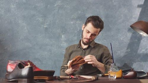 Guy Attending Shoe Making Classes, Education, a Part Time Job