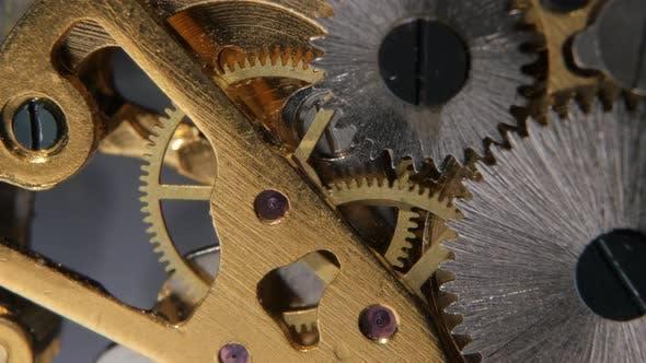 Thumbnail for Zahnräder Mechanische Uhr Nahaufnahme