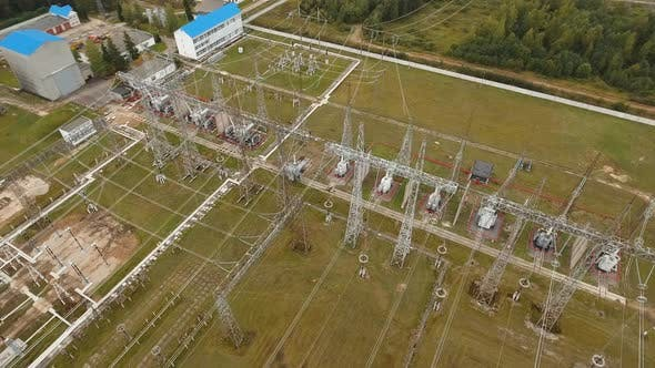 Elektro-Unterstationstation-Anlage