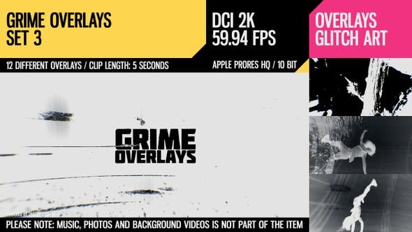 Thumbnail for Grime Overlays (2K Set 3)
