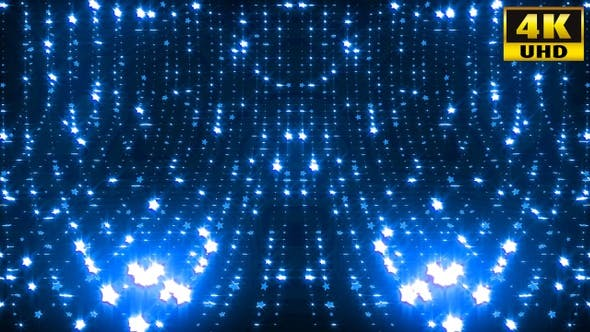 Cover Image for Cylindrical Star Vj Loop Pack 4k