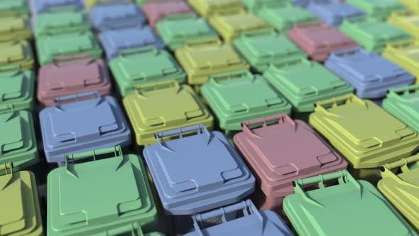 Thumbnail for Müllcontainer zum Sortieren von recyceltem Müll