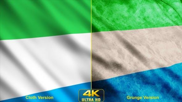 Sierra Leone Flags