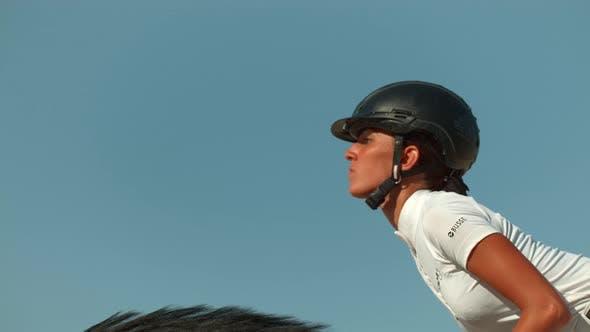 Thumbnail for Horseback riding, Ultra Slow Motion