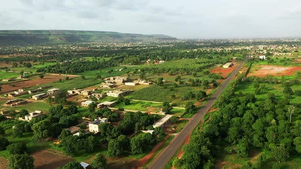 Thumbnail for Africa Mali Village Aerial View 7