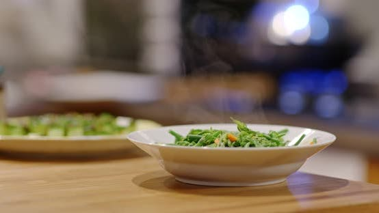 Thumbnail for Vegetable dish at home
