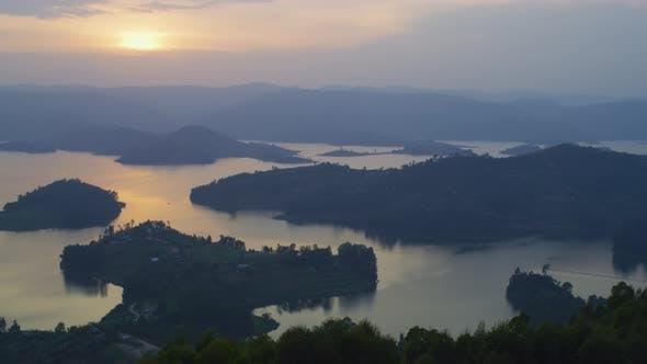 Thumbnail for Lake Bunyonyi with islands
