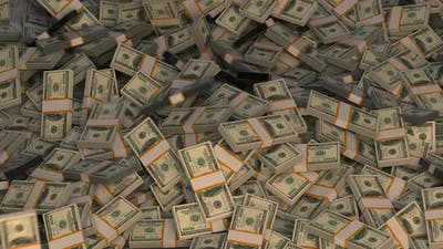 Money Dollars Money Falling