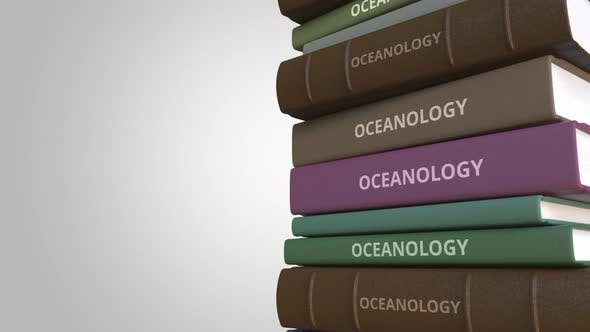 Thumbnail for OCEANOLOGY Title on the Stack of Books