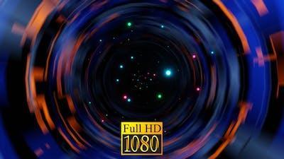 A Black Hole With Lights HD