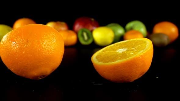 Thumbnail for Falling Orange