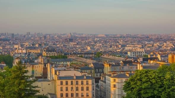 Thumbnail for Morning Panorama of Paris