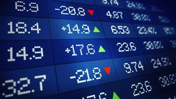Thumbnail for Stock Market Data Board