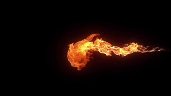 Shooting Flames Element