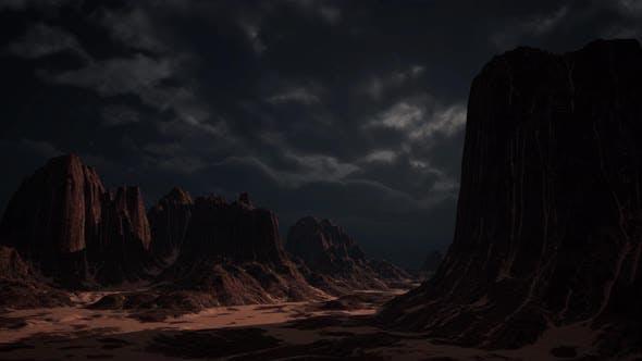 Cover Image for Rocky Desert Landscape