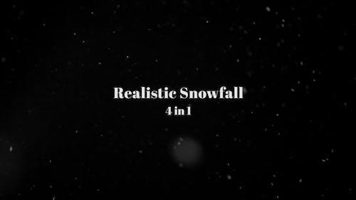 Realistic Snowfall - 4 In 1