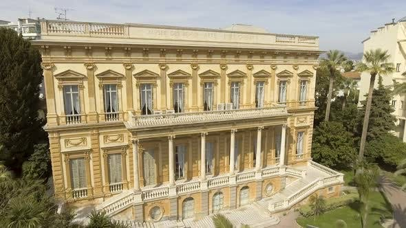 Thumbnail for Building of Fine Arts Museum in Nice, France, collection of paintings, landmark