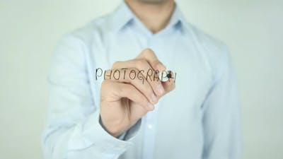 Photography, Writing On Screen