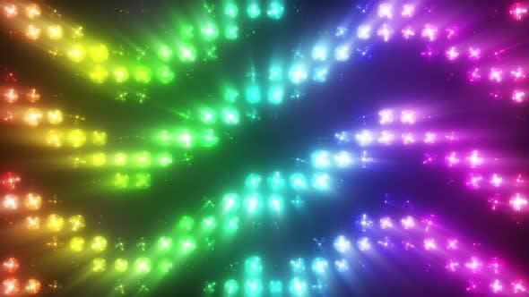 Thumbnail for Colorful Flashing Lights with Smoke