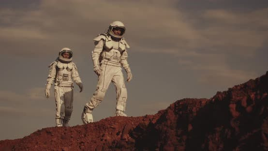 Thumbnail for Two Astronauts on Mars