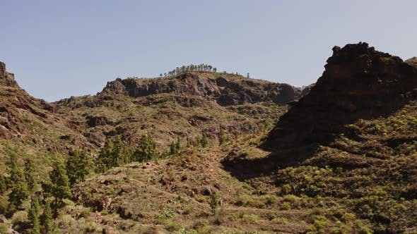 Thumbnail for Panoramic Shot of the Top of the Gran Canaria Valley