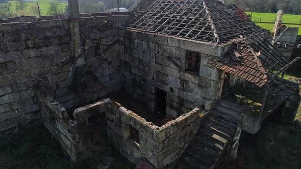 Thumbnail for Abandoned House Aerial View
