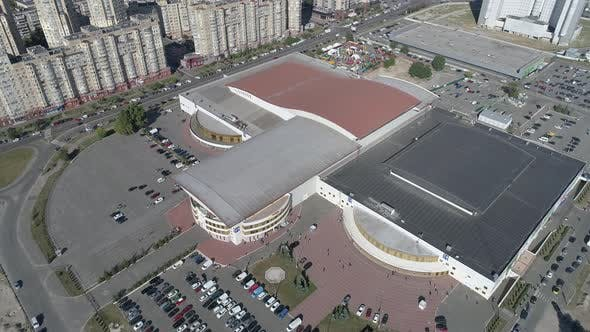 Aerial of the International Exhibition Centre