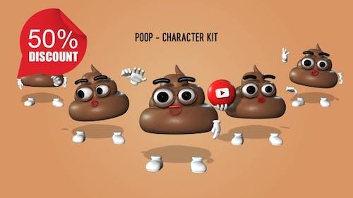 Poop - Character Kit