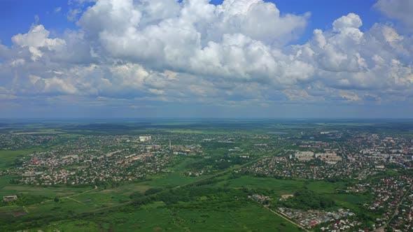 Thumbnail for Aerial View City Berdichev Ukraine