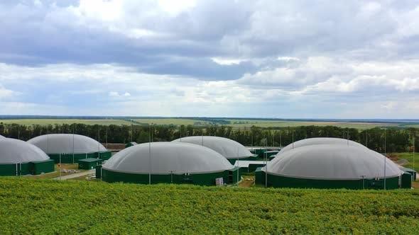 Biogasproduktion