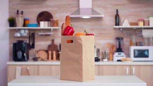 Bag of Groceries