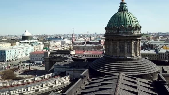 Thumbnail for Die Kasaner Kathedrale in Sankt Petersburg Russland