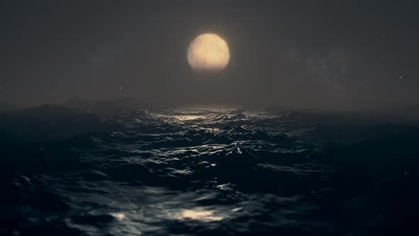 Thumbnail for Dark Sea With Moon