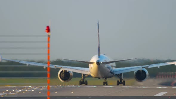 Thumbnail for Widebody Airplane Departure