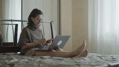 Freelance Woman Remote Work