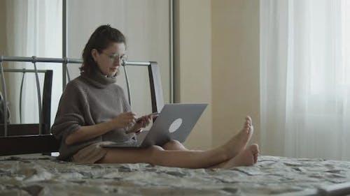 Freelance Woman Remote Work
