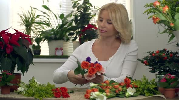 Thumbnail for Flower Shopkeeper at Work