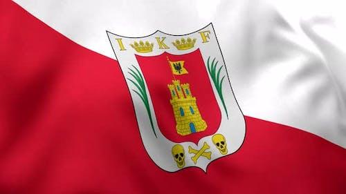 Tlaxcala Flag (Mexico) - 4K