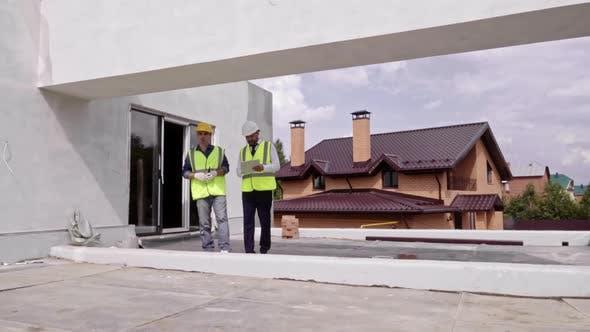 Thumbnail for Building Supervisor Checking Work Progress