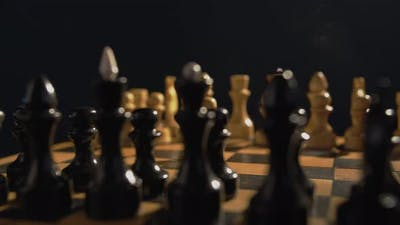 Chess on the Chess Board.