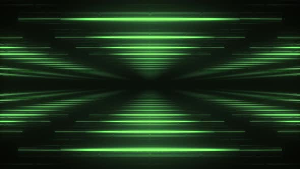 Thumbnail for Abstract green futuristic background