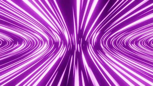Violet Space Journey Vj Loop HD