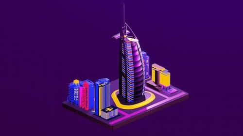 Hotels between big cities