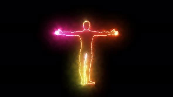Thumbnail for Human Aura Pulsating Colors