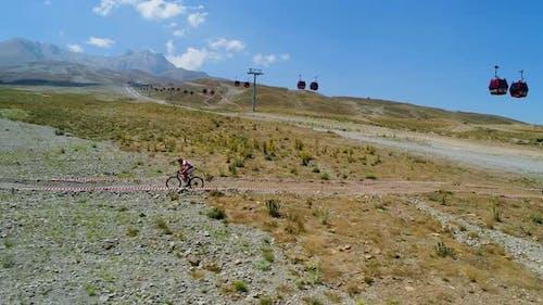 Radfahrer Rennen