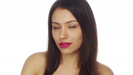 Thumbnail for Young Mexican woman looking at camera