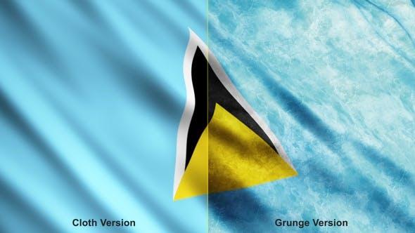 Saint Lucia Flags