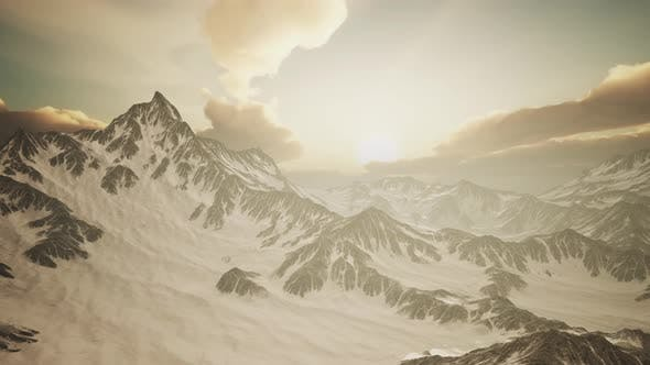 Thumbnail for Rays of Sunset on the Tops of the Mountains